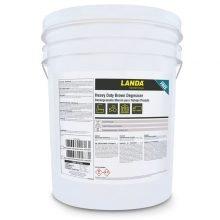 Landa Heavy Duty Brown Degreaser, Phosphate Free, Pressure Washer Chemical