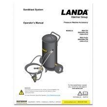Landa Sandblaster, Operators Manual
