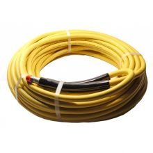 "Legacy Rawhide 1-Wire Hose, 3000 PSI, 3/8"" MPT, Smooth Yellow, 8.901-804.0, 158990"