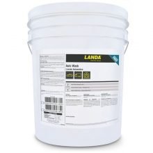 Landa Auto Wash, Dirt and Grime Remover Chemical, White Bucket