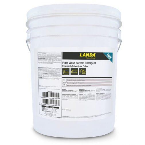 Landa Fleet Wash Solvent Detergent Chemical, 5 Gallon Bucket