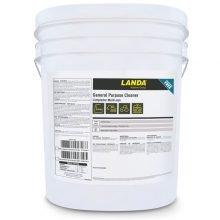 Landa General Purpose Cleaner Chemical, 5 Gallon White Bucket
