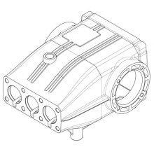 Landa LX Pump Crankcase, Replacement, 8.752-825.0