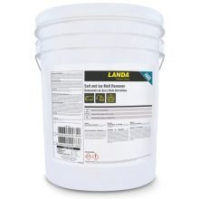 Landa Salt and Ice Melt Remover, 5 Gallon Bucket, Chemical Application