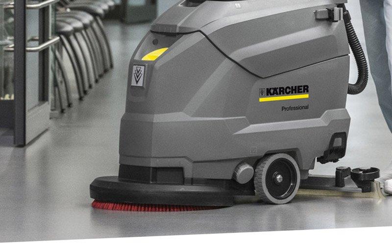 Automotive Industry Floor Care