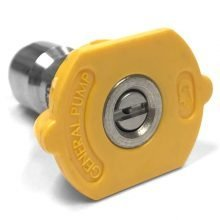 General Pump, Quick Coupler Nozzle, Yellow, 15 Degrees