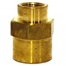Hex Couplings, Reducing Brass