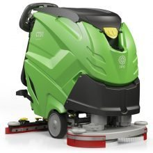 IPC Eagle CT71, Automatic Floor Scrubber, Walk Behind Machine