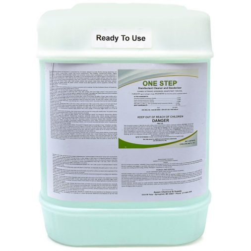 Aspen One Step Chemical, 5 Gallon Container