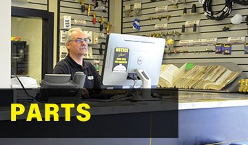 Parts for pressure washers, front desk