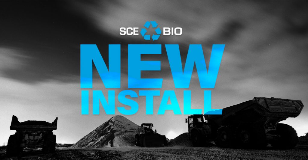 SCE BIO Installation - cleaning wash water before sewer discharge