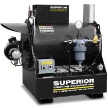 SCE Dry Steam Generator Machine, Black Coated
