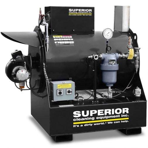 SCE Dry Steam Generator Machine, Black Coated