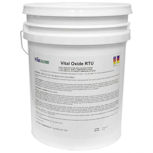 8.644-292.0 - Vital Oxide, 5 Gallon Bucket, White