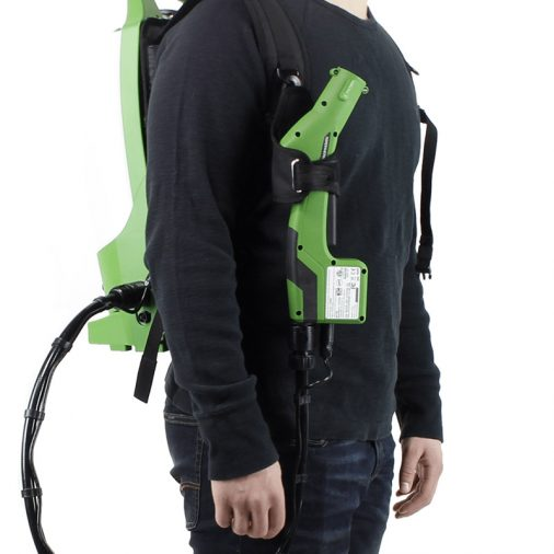 Victory Backpack Sprayer, VP300ES, On Mans Back