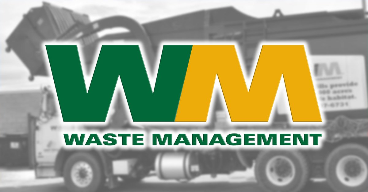 Waste Management Trash Can Cleaning with Pressure Washers