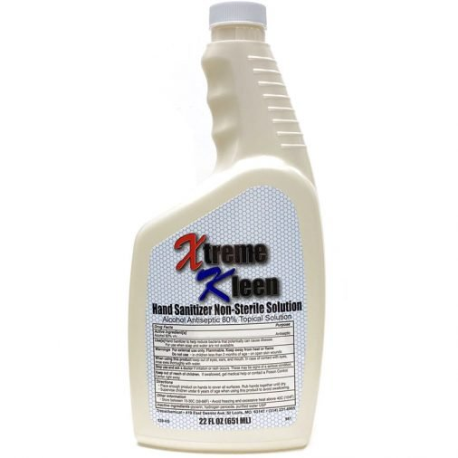 Xtreme Kleen Hand Sanitizer, Pearl Bottle, 22 oz.