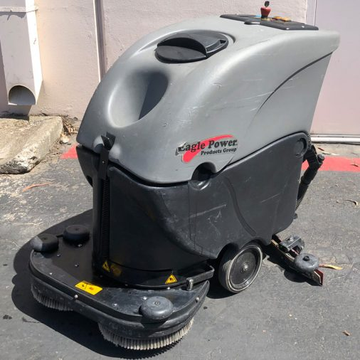 Used Eagle Power Floor Scrubber, San Diego