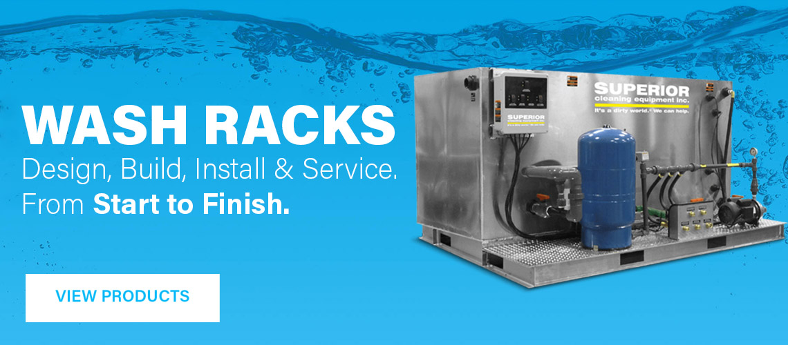 We Design, Build, Install and Service Wash Racks and Water Recycling Systems