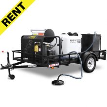 Landa Wash and Recycle Pressure Washer Trailer