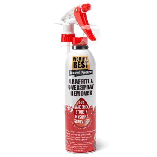 WB0015, Bare Brick, Stone, Masonry Graffiti Remover Spray Can