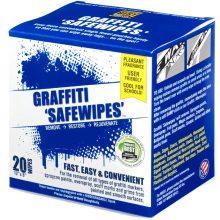 Graffiti Safewipes, 20 pack box, World's Best Graffiti Removal Products,