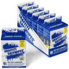 Graffiti Safewipes, 6 Pack, World's Best Graffiti Removal Products