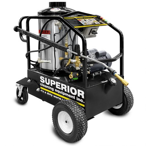 VERSA Steamer from Superior Cleaning Equipment, Hot Water Pressure Washer
