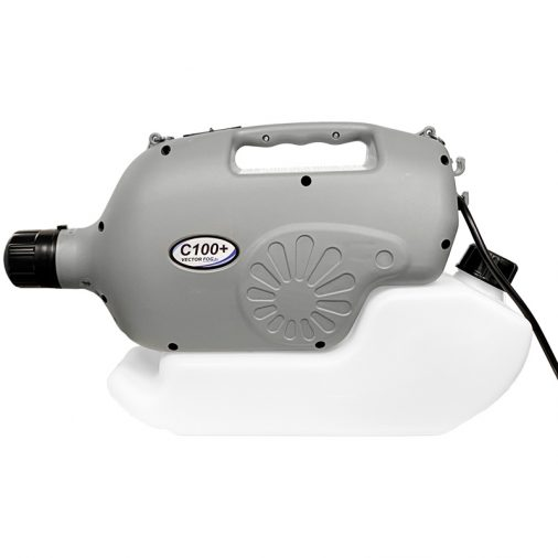 Vectorfog C100 Plus, +, ULV Fogger, Side View With Cord