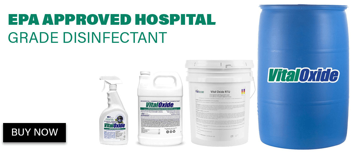 Vital Oxide, Hospital Grade Disinfectant Available in Phoenix and San Diego. Buy Online.