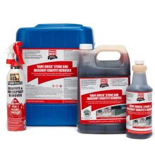 World's Best Graffiti Remover, bare brick, stone, masonry, WB0015, WB0012, WB0010, WB0011