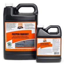 World's Best Graffiti Removal Products, Feltpen fadeout, WB0032, WB0030, WB0031