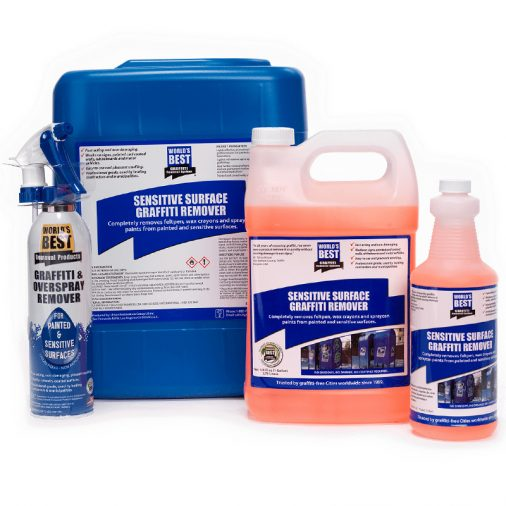 Worlds Best Graffiti Removal Products, Sensitive Areas