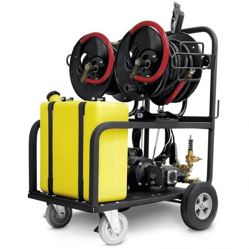 Karcher HD 2.0/1000 Dual Mister Cart, All In One Mister and Pressure Washer, 1.106-161.0