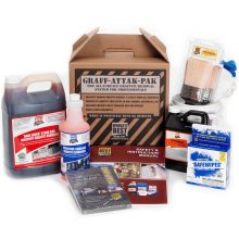 Worlds Best Graffit Remover, Graff-Attak-Pak, Professional Starter Kit