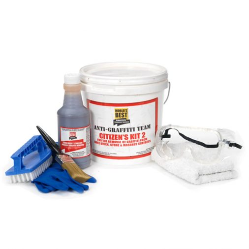 Citizen's Kit 2, A0120, World's Best Graffiti Removal System
