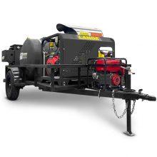 Landa PGHW Pressure Washer Trailer, On Board Water Filter, Honda Generator