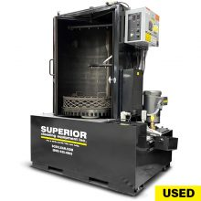 Used JRI / Jenfab Parts Washer For Sale, Front Load System, Aqueous Parts Washer Side View