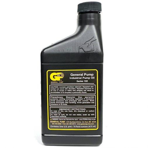 General Pump, Industrial Pump Oil, Series 100, Back
