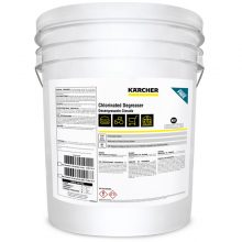 Karcher Chlorinated Degreaser, NSF Approved Chemical, Removes Fats, Oils, Grease