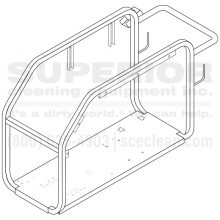 Landa MHC Frame Replacement, Horizontal Assembly, 8.914-952.0