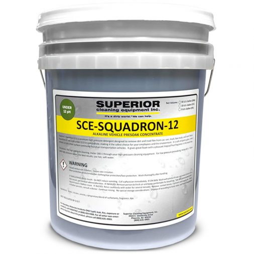 Squadron-12, 11.8 pH level concentrate chemical