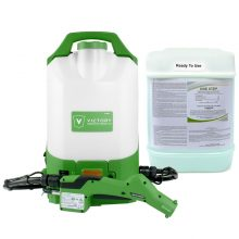 Victory Backpack Bundle With One Step Disinfectant List N Chemical