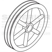 pulley, 8.715-596.0