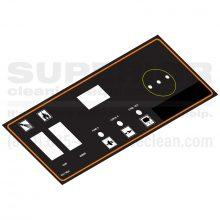 PHW Control Panel Label, 8.917-586.0