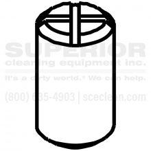 Nozzle Volume Spacer, 8.639-168.0