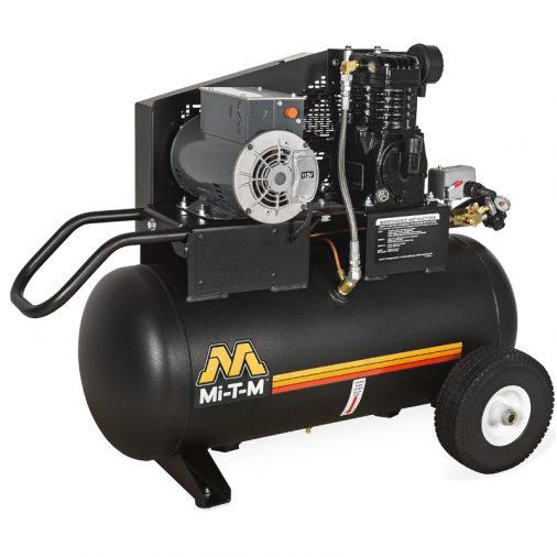 Mi-T-M Air Compressor, 20 Gallon, Single Stage, Electric, AM1-PE02-20M