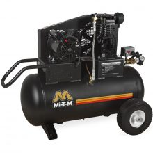 Mi-T-M Air Compressor, Electric, Single Stage, 20 Gallon, AM1-PE15-20M