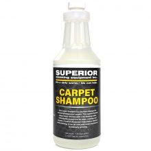 SCE Carpet Shampoo, For Car Upholstery and Carpets, 1 Quart