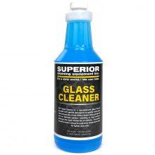 SCE Glass Cleaner, Fast Drying, Streak Free Shine On Car Windows, 1 Quart